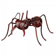 Bull Ant Metal Statue Ornament Hanging Wall Art Insect Garden Sculpture *19 cm*