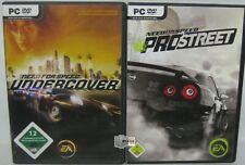 Need for Speed Undercover + Pro Street - PC - Spielesammlung - Retro - Kult
