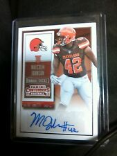 Malcolm Johnson rookie ticket Panini contenders 2015 autograph