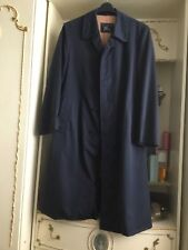 BURBERRY Blue Cappotto Trench MAC/M/L