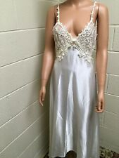 Vintage JONQUIL by DIANE SAMANDI Lace Night Gown Size S