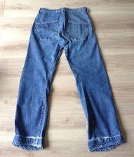 Levi 's twisted/engineered Jeans Größe 32 x 34 Hem Schaden siehe Beschreibung