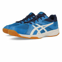 Asics Mens Gel-Upcourt 3 Indoor Court Shoes Blue Breathable Lightweight Trainers