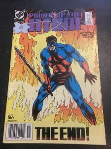 """Power Of The Atom#18 Awesome Condition 7.5(1989) Final Issue """"The End"""""""