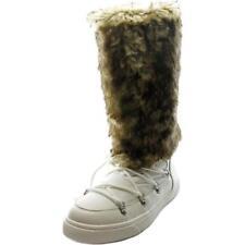 Scarpe da donna bianchi tessili Numero 35