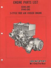 Rupp 2-Cycle Free Air Cooled Engine K340-2Rs,K440-2Rs Parts List Manual (483)