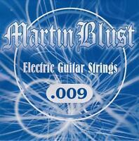 Martin Blust Einzelsaite .009 für E-Gitarre