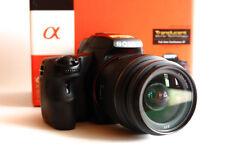 EX+ Sony Alpha SLT-A37 Digital SLR Camera Black Kit with DT SAM 18-55mm Lens