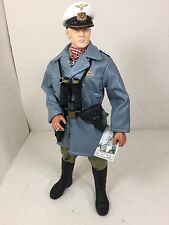 1/6 DRAGON U BOAT GERMAN NAVY CAPTAIN KRIEGSMARINE W/CHARTS WW2 BBI DID 21ST