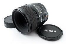 Nikon AF Micro-Nikkor 60mm F/2.8 Macro Lens From Japan [Near Mint] #661647A