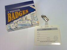 5 visitantes xplatignum-Ivy-nombre-tarjetas de identificación Paisaje Blanco - 97x79mm Tarjetas/Clips Inc