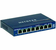 More details for netgear prosafe gs108 network switch - 8 port - currys