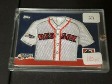2008 Topps Jacoby Ellsbury World Series Patch Card /499 Boston Red Sox