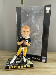 "TERRY BRADSHAW Pittsburgh Steelers NFL ""Legends of the Gridiron"" Bobblehead NIB!"