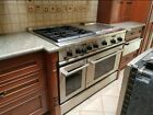 """GE Monogram® 48"""" Dual-Fuel Professional Range with 4 Burners, Grill, and Griddle photo"""