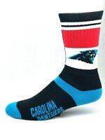 Carolina Panthers For Bare Feet State Flag Team Crew Socks