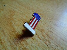 USA Flag Number One Harley Motorcycle Pin Vintage HD Dealership Memorabilia Hat