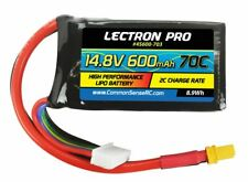 Lectron Pro 14.8V 600mAh 70C Lipo Battery with XT30 Connector