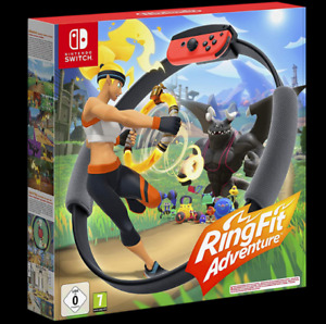 Ring Fit Adventure Fitness Healthy Nintendo Switch Game