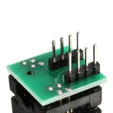 SOIC 8 SOP8 clips de prueba de IC chip flash zócalo Programador Convertidor 150 milpro L60
