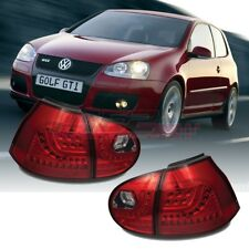 Winjet OE Fit For 2006-2009 VW Volkswagen MK5 GOLF GTI LED Brake Tail Lights Red