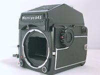 🟢NEAR MINT🟢Mamiya M645 1000S Medium Format Body PD Prism Finder from Japan 621
