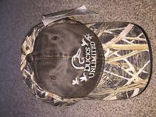 Brand New Ducks Unlimited Mossy Oak Official Hat