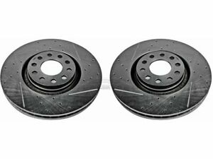 For 2000-2004 Audi A6 Quattro Brake Rotor Set Front Power Stop 96276DR 2001 2002