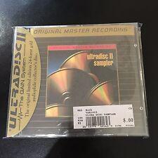 ULTRADISC SAMPLER II, ORIGINAL MASTER RECORDING CD 24 KARAT GOLD MOFI MFSL