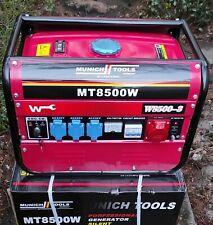 Benzin Generator MT8500W Stromgenerator Notstromerzeuger Stromerzeuger Neu