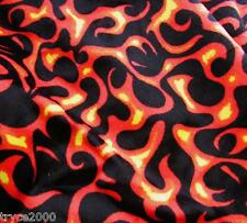 "1-YD & 25""  AMAZING FAIRY FLAMES  FUR FAUX FABRIC NEW & UNIQUE"