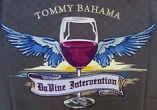 "NWT TOMMY BAHAMA MENS sz S SILK EMBROIDERED ""DaVINE INTERVENTION"" SHIRT 45 CHEST"