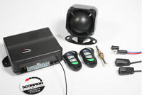 NEW SCORPION SA30 CAR VAN ALARM IMMOBILISER C/LOCKING