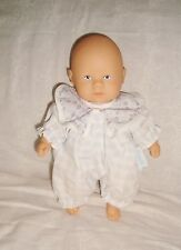 Mini Calin Corolle Dolls 20cm 1997 barboteuse ciel / parme