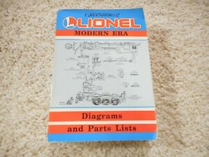 O SCALE LIONEL MODERN ERA BOOK
