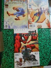 Lot 3 comics US Spider-Man  Lifeline 1 -2  + Get Kraven 1 Near Mint !