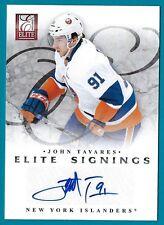 John Tavares - 2011-12 Elite Signings Card #67 SP