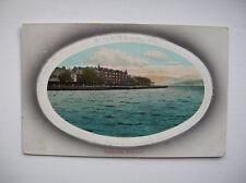 Greenock, Esplanade. (National Series Post Card - 1910)