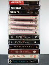 Van Halen Cassette Tapes Lot Of 13 balance ou812 1984 5150 live fair women 2 1v