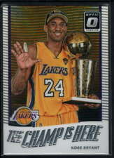 2017-18 DONRUSS OPTIC KOBE BRYANT #6 PRIZM THE CHAMP IS HERE C7818