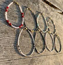Simple Thin Bracelet Minimal Handmade jewellery jewelry friendship gift present