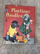 Vinatge Play Time Poodles-Rand McNally Book-Tip Top Elf