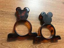 Bakelit * Bakelite * 2 Napkinholder Mickey Mouse * 30er USA * Art Deco Serviette