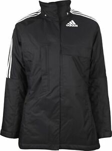 adidas Padded Womens Jacket Black Relaxed Fit Winter Coat Size XXS, XS, S