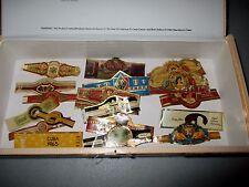 H. UPMANN Robustos Maduro FABRICA DE TABACOS Dominican CIGAR BOX & 18 BANDS