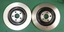 JAGUAR F-TYPE HIGH PERFORMANCE REAR BRAKE DISCS PAIR NEW GENUINE BOXED T2R5942