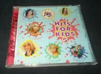 HITS FOR KIDS 5 CD ABBA BEC CARTWRIGHT SPHIE MONK JACKSON 5 KYLIE SMASHMOUTH