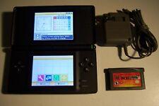 Onyx Black NINTENDO DS LITE System + Game