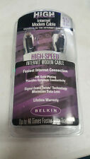 NWT Belkin High-Speed Internet Modem Cable, 15 ft feet. F3L900-15-ICE-S