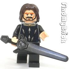 M542 Lego Castle Minifigure Custom Aragorn Minfigure with Greatsword NEW